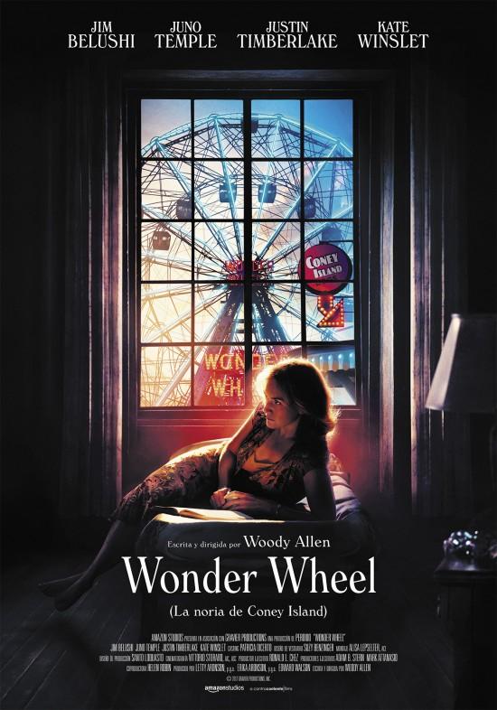 Portada del DVD de la pel·lícula Wonder Wheel