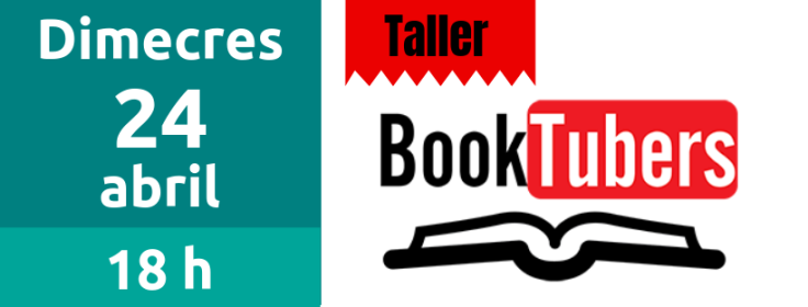 24 d'abril Taller Booktubers