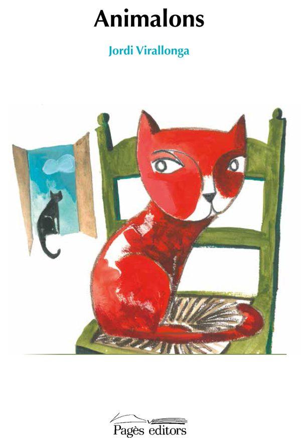 Portada del llibre infantil Animalons de Jordi Virallonga
