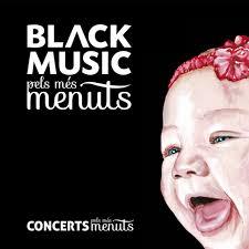 Portada del CD infantil Black Music pels més menuts
