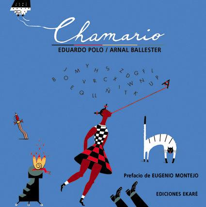 Portada del llibre infantil Chamario d'Eduardo Polo