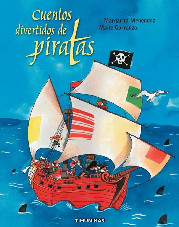 Portada del llibre infantil Cuentos divertidos de piratas de Margarita Menéndez i Maite Carranza
