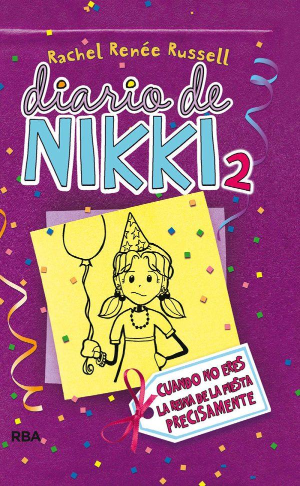 Portada del llibre infantil El diario de Nikki 2 de Rachel Renée Russell