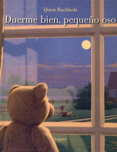 Portada del llibre infantil Duerme bien, pequeño oso de Quint Bucholz