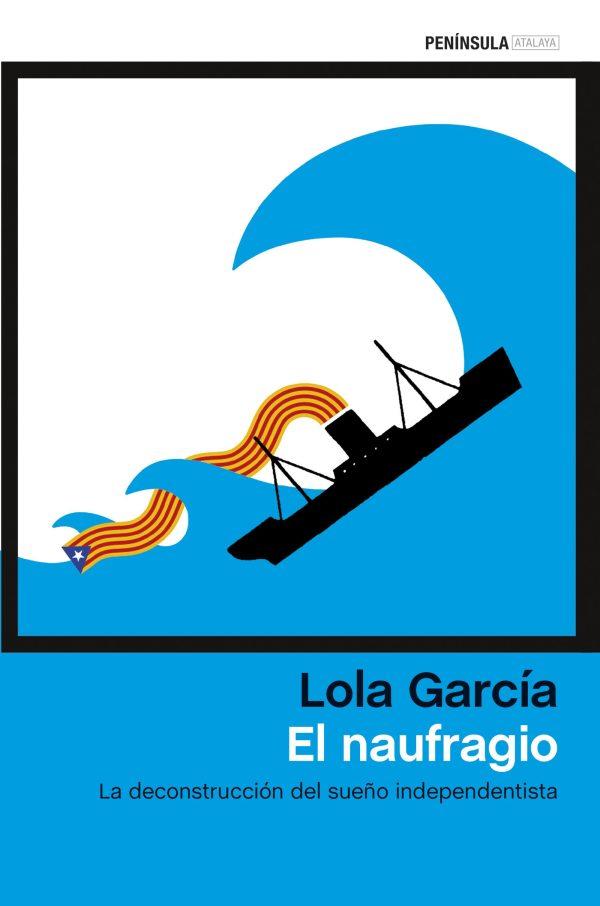 Portada del llibre El naufragio de Lola García