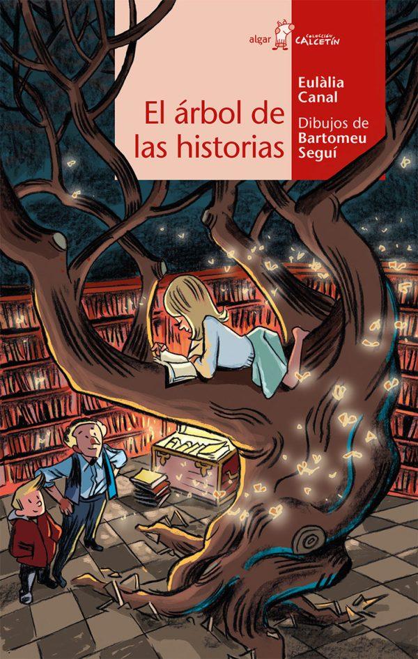 Portada del llibre infantil El árbol de las historias d'Eulàlia Canal