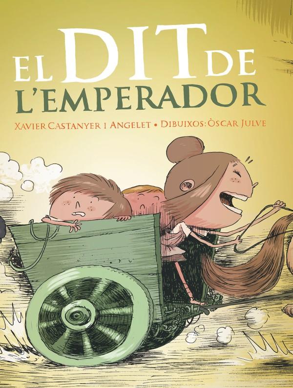 Portada del llibre infantil El dit de l'Emperador de Xavier Castanyer