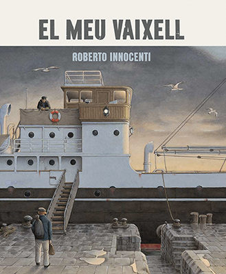 Portada del llibre infantil El meu vaixell de Roberto Innocenti
