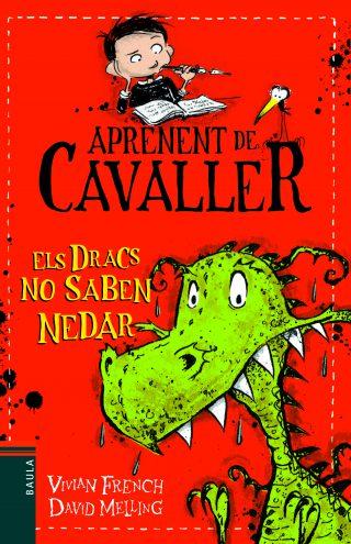 Portada del llibre infantil Els dracs no saben nedar de Vivian French