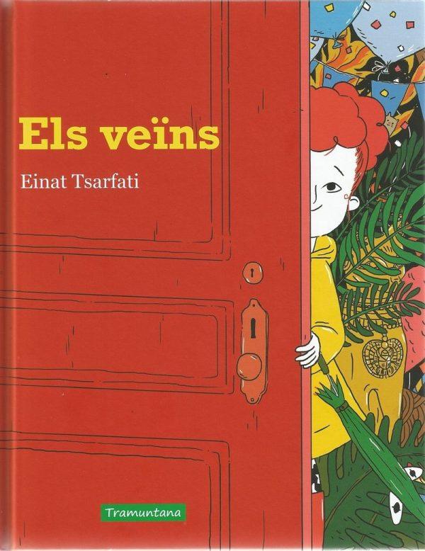 Portada del llibre infantil Els veïns d'Einat Tsarfati