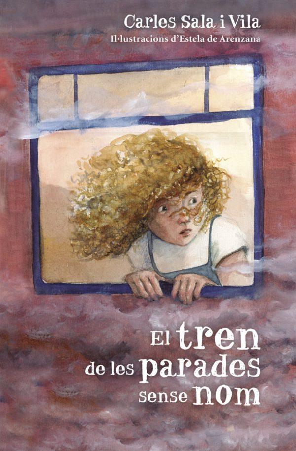 Portada del llibre infantil El tren de les parades sense nom de Carles Sala