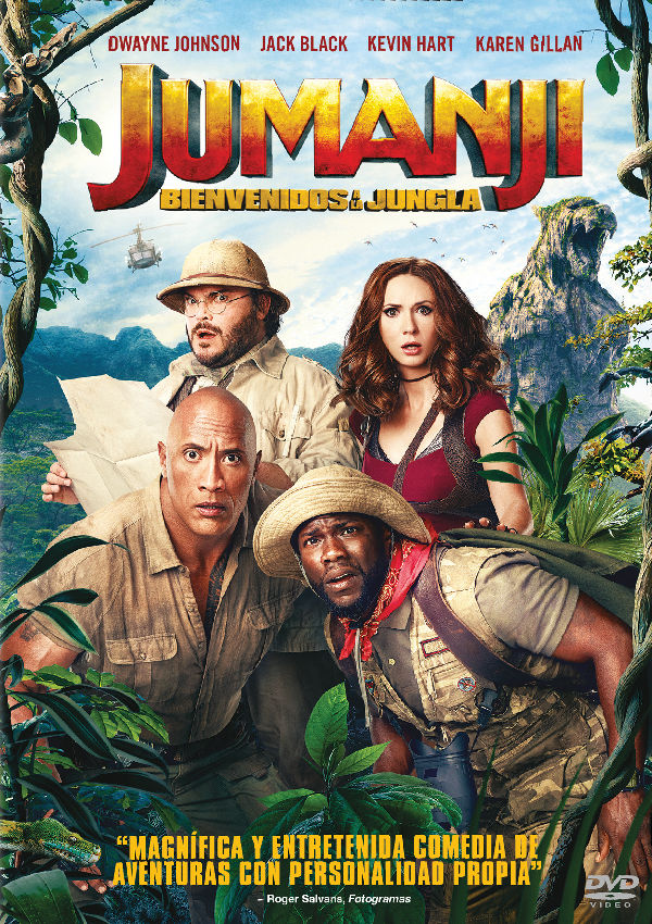 Imatge del cartell de la pel·lícula Jumanji