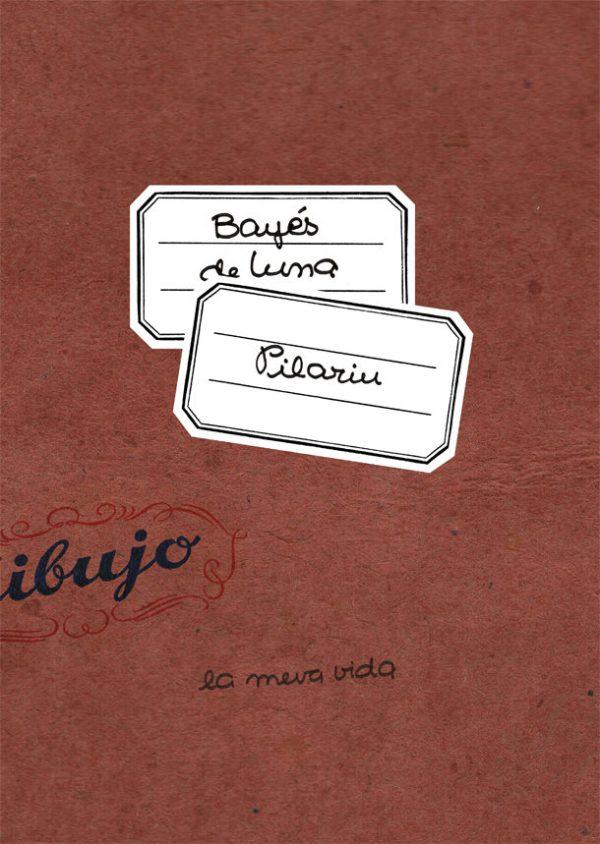 Portada del llibre infantil La meva vida de Pilarín Bayés de Luna