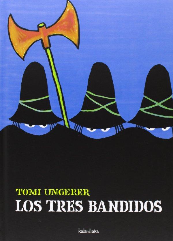 Portada del llibre infantil Los tres bandidos de Tomi Umgerer