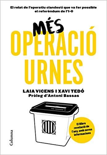 Portada del llibre Més operació urnes de Laia Vicens