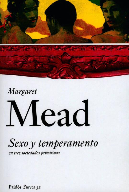 Portada del llibre Margaret Mead Sexo y temperamento
