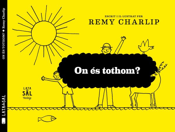 Portada del llibre infantil On és tothom? de Remy Charlip