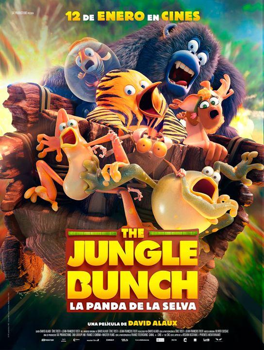 Imatge del cartell de la pel·lícula La panda de la selva