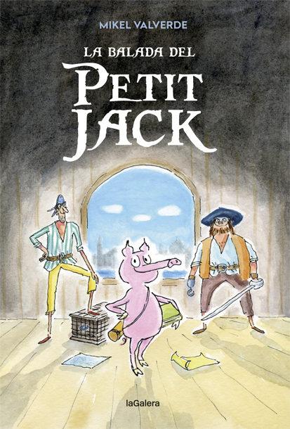 Portada del llibre infantil La balada del petit Jack de Mikel Valverde