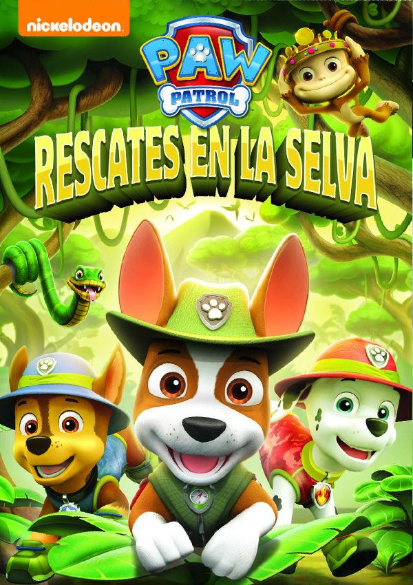 Imatge del cartell de la pel·lícula Rescates en la selva