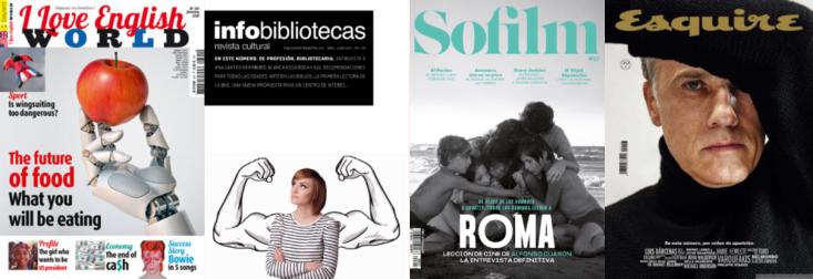 Imatge de portades de revistes