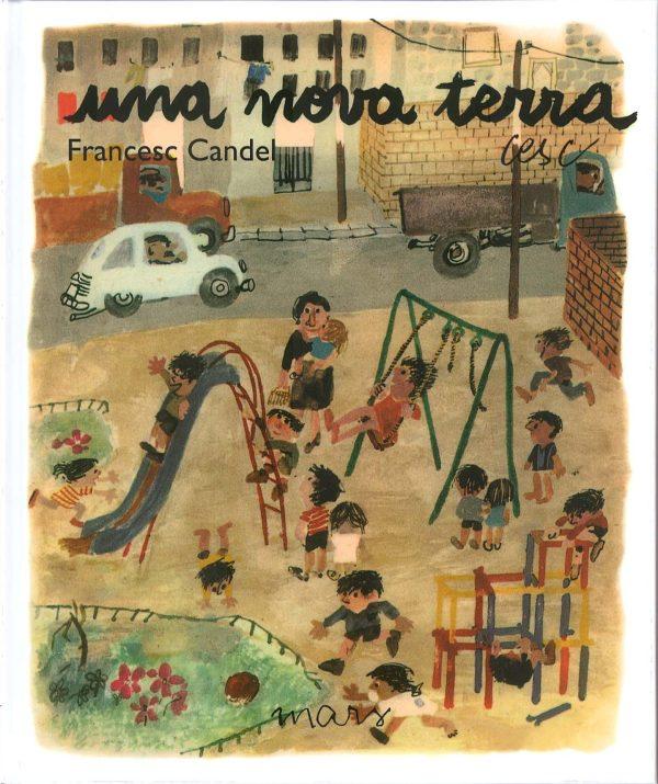 Portada del llibre infantil Una nova terra de Francesc Candel
