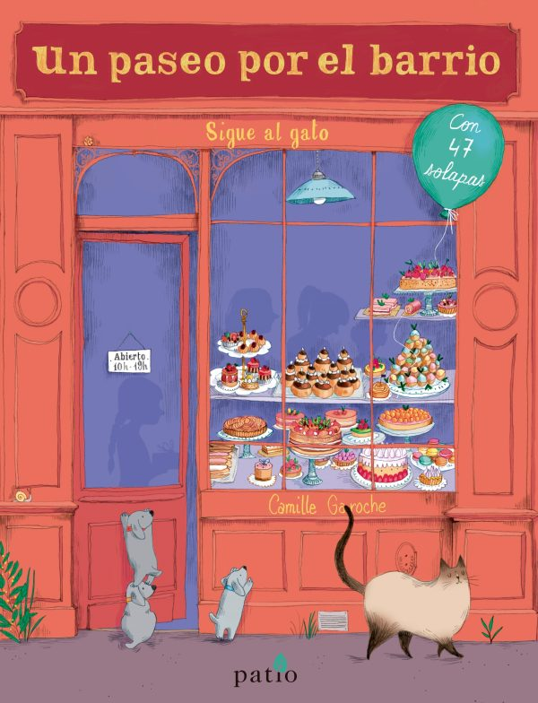 Portada del llibre infantil Un paseo por el barrio de Camille Garoche