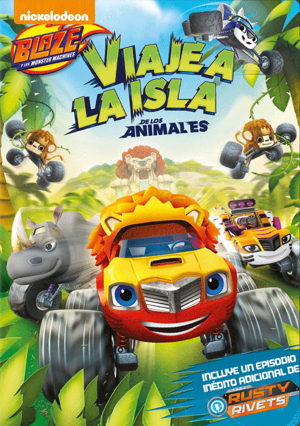 Imatge del cartell de la pel·lícula Viaje a la isla de los animales