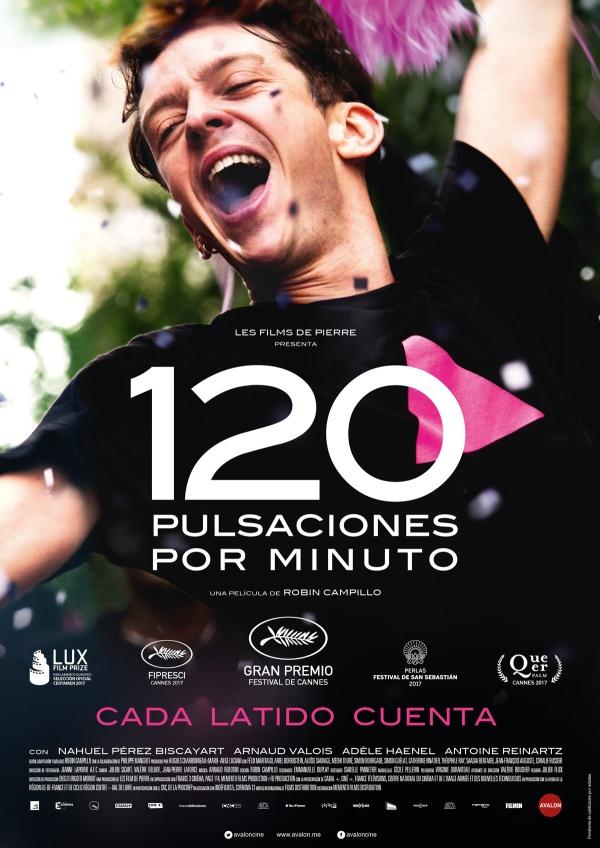 Imatge del cartell de la pel·lícula 120 pulsaciones