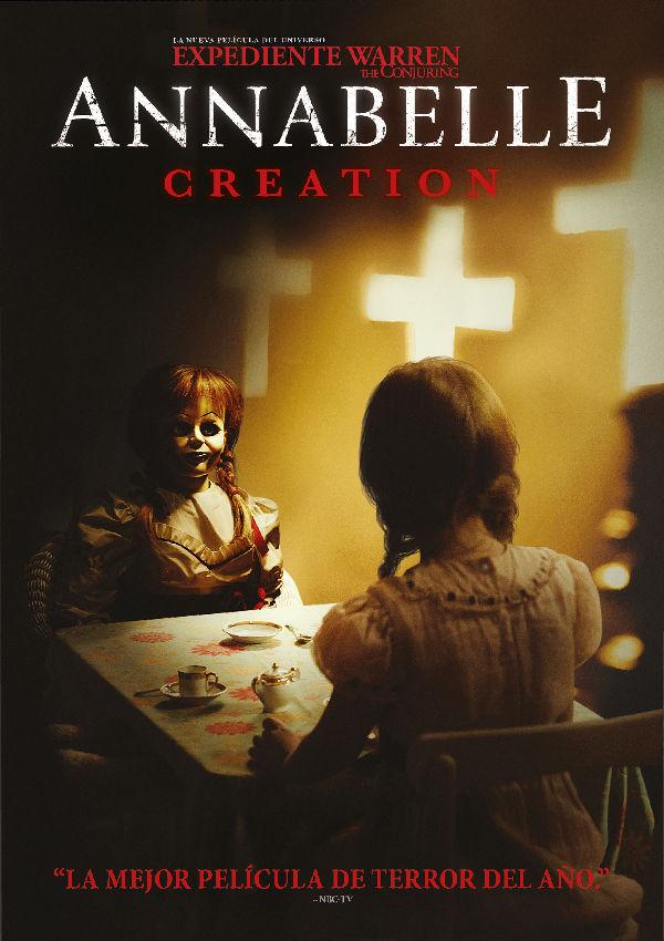 Imatge del cartell de la pel·lícula Annabelle creation