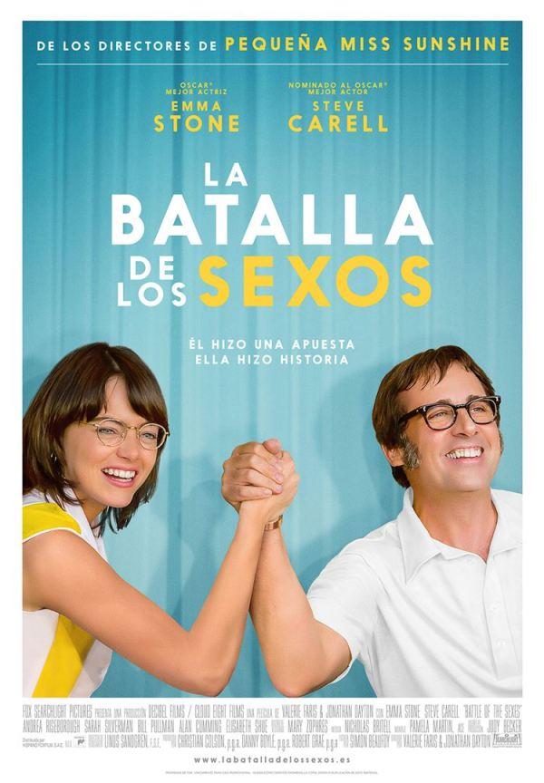 Imatge del cartell de la pel·lícula La batalla de los sexos