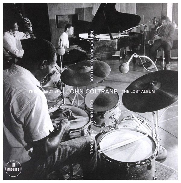 Portada del CD Both directions at once de John Coltrane
