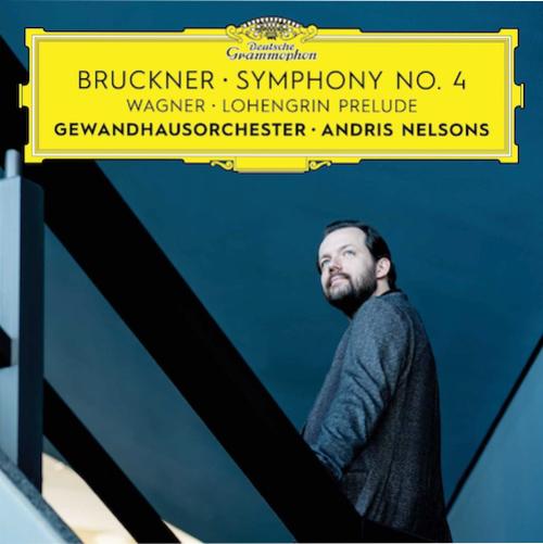 Portada del CD Simfonies, núm. 4, mi bemoll major d'Anton Bruckner