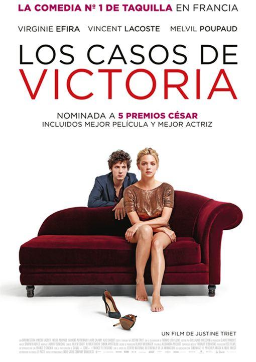 Imatge del cartell de la pel·lícula Los casos de Victoria