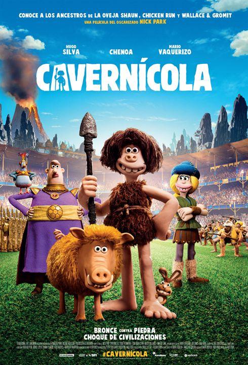 Imatge del cartell de la pel·lícula Cavernícola