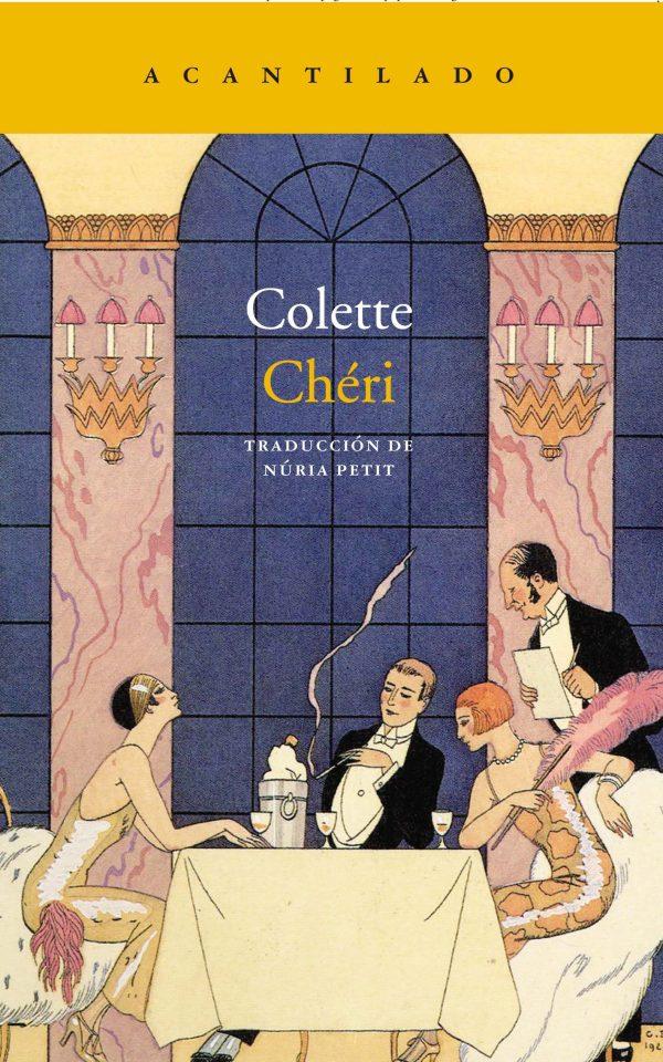 Portada de la novel·la Chéri de Colette