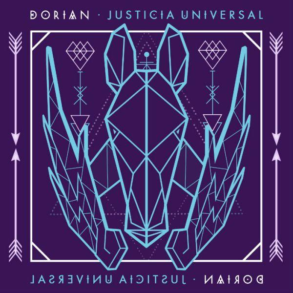 Portada del CD Justicia universal de Dorian