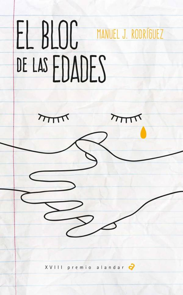 Portada de la novel·la El bloc de las edades de Manuel J. Rodríguez
