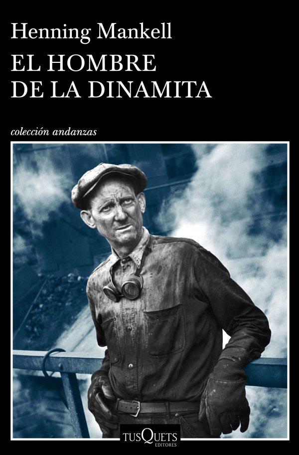 Portada de la novel·la El hombre de la dinamita de Henning Mankell