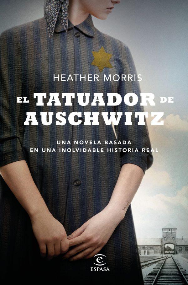 Portada de la novel·la El tatuador de Auschwitz de Heather Morris