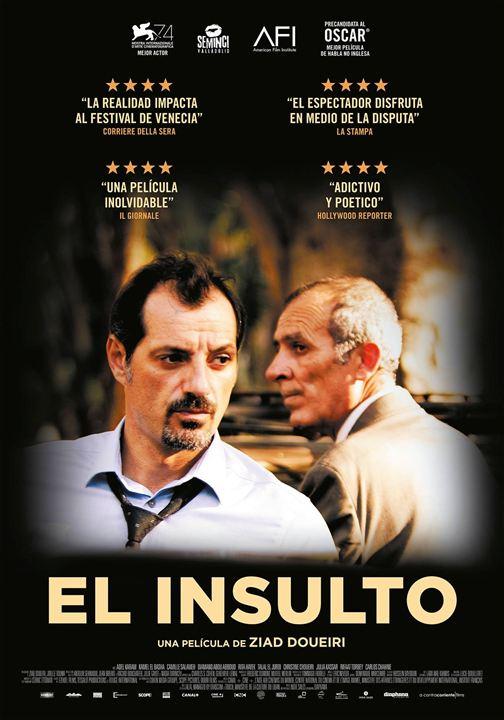 Imatge del cartell de la pel·lícula El insulto