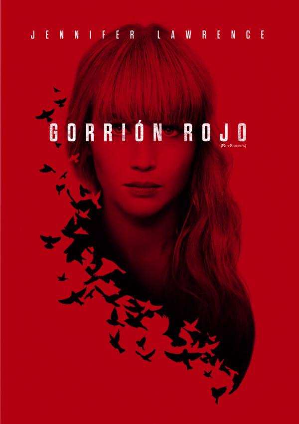 Imatge del cartell de la pel·lícula Gorrión rojo