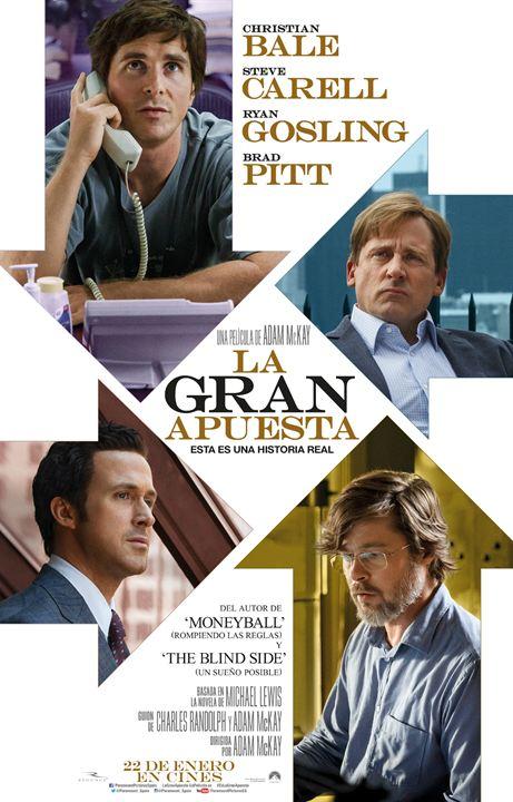 Imatge del cartell de la pel·lícula La gran apuesta