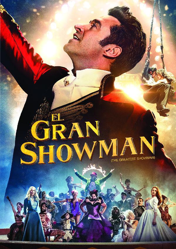 Imatge del cartell de la pel·lícula El gran showman