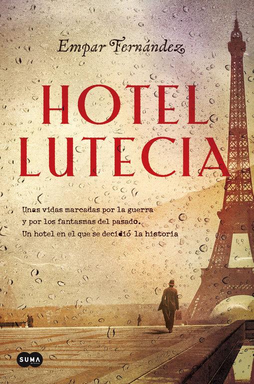 Portada de la novel·la Hotel Lutecia d'Empar Fernández