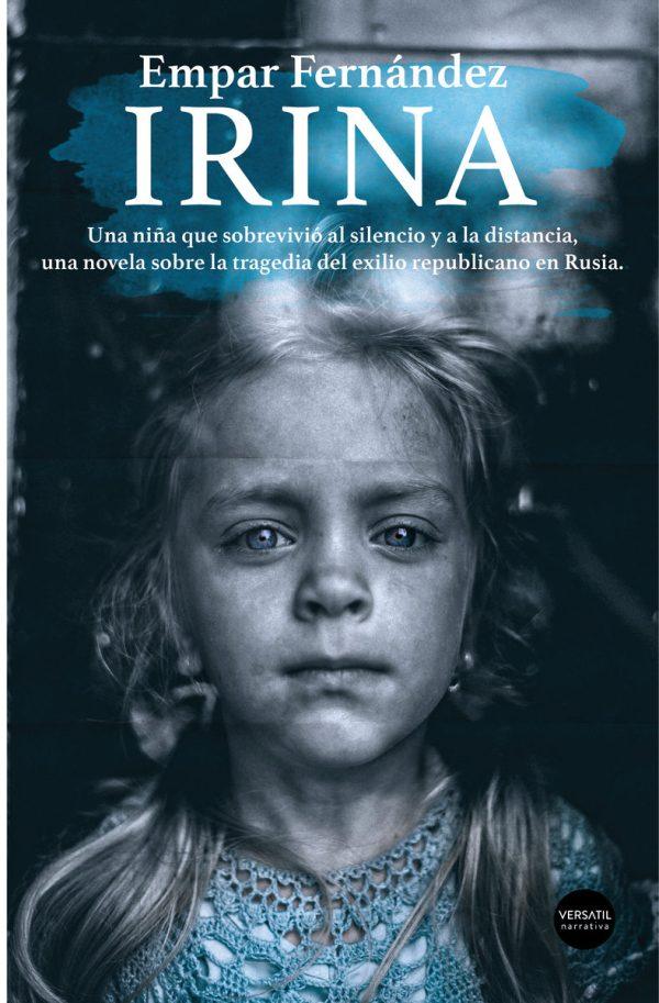 Portada de la novel·la Irina d'Empar Fernández