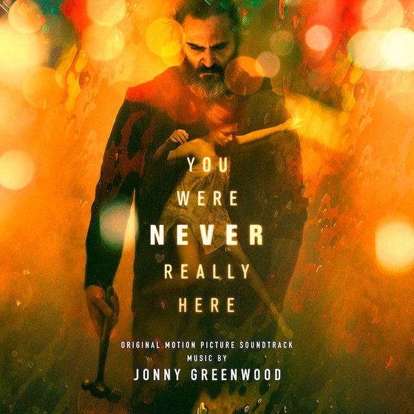 Portada del CD You were never really here de Jonny Greenwook