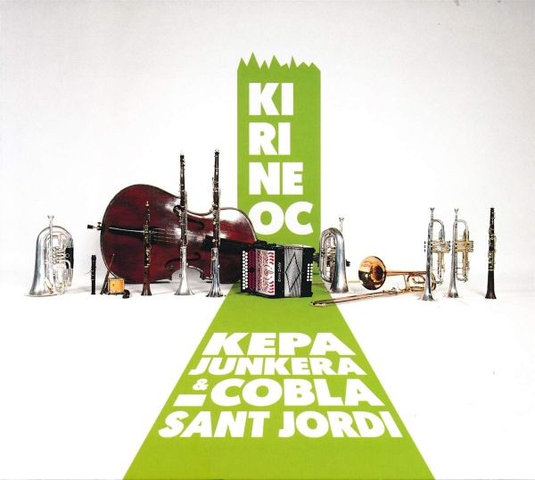 Portada del CD Kirineoc de Kepa Junkera