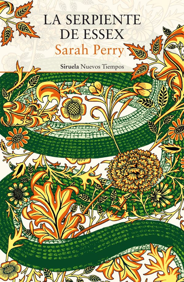 Portada de la novel·la La serpiente de Essex de Sarah Perry