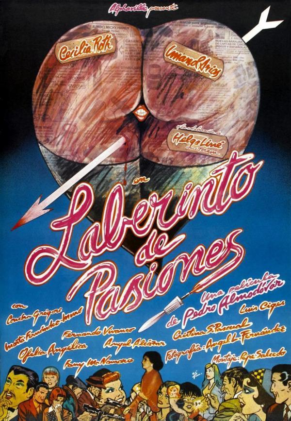 Imatge del cartell de la pel·lícula Laberinto de pasiones